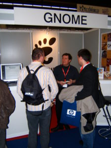 Zoltan at GNOME LWE