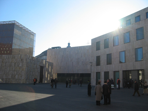 "Jewish Museum at St Jakobs Platz in Munich. Picture by ""Toco"" on Flickr. CC licensed."