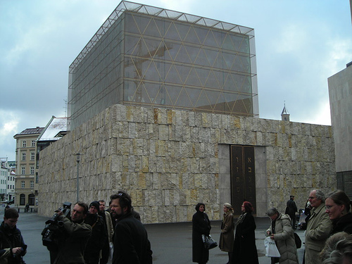 "Munich's New Synagogue. Picture by ""NiceBastard"" from Flickr. CC licensed."