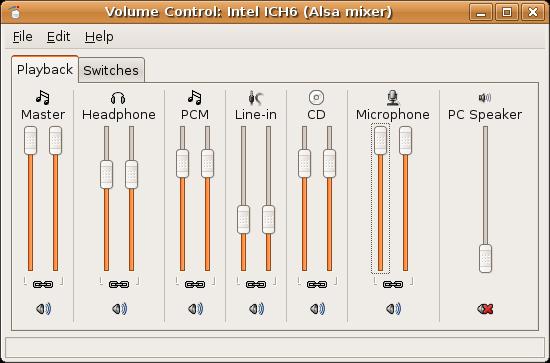 Volume Preferences