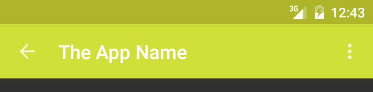 Android: Changing the Toolbar's text color and overflow icon
